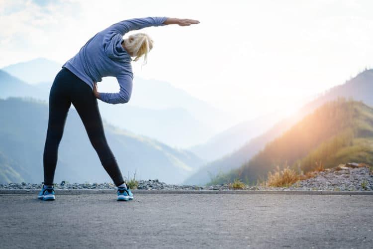 tập thể dục làm chậm quá trình lão hóa da, giúp da căng mịn