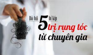 bí kíp trị rụng tóc từ chuyên gia